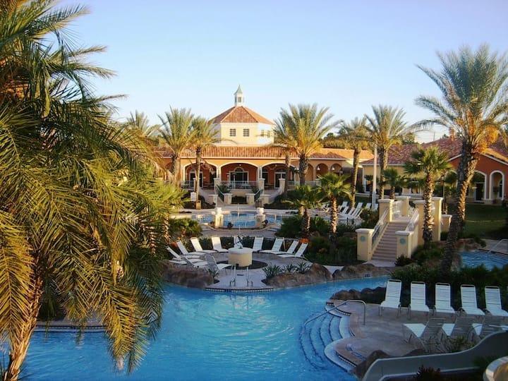 Villas at Regal Palms, FL : 3-Bedroom, Sleeps 8