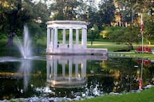 Walk to gorgeous Congress Park, amazing location for weddings & events!