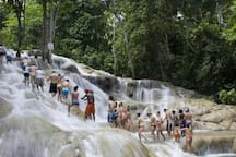 10 minutes drive to World famous Dunn's River Falls. Take the challenge and climb the falls.