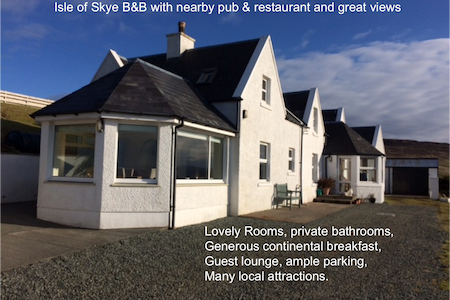 Isle of Skye B&B near the Stein Pub, great views - Waternish