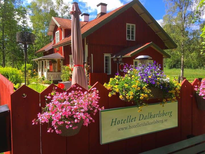 Hotellet Dalkarlsberg, 15 min från Nora Bergslagen