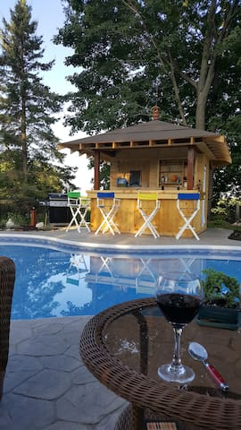 Orillia Oasis-New Inground Pool,Hot Tub - Orillia