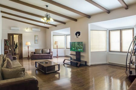 Spacious Penthouse Apartment with Panoramic Views