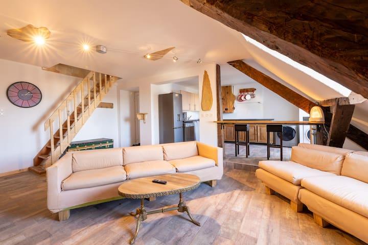Duplex #4 : Coloc  Chambéry centre