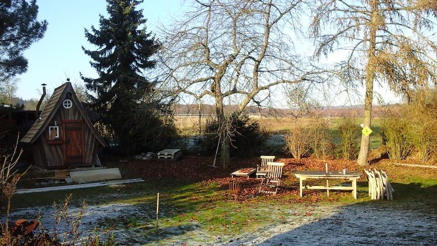 Ruhiges Zimmer mit top Anbindung nach FFM - Butzbach - Rumah