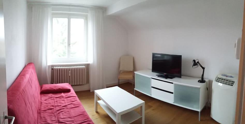 2 Zimmerwohnung nähe Messeplatz - Basel - Apartemen