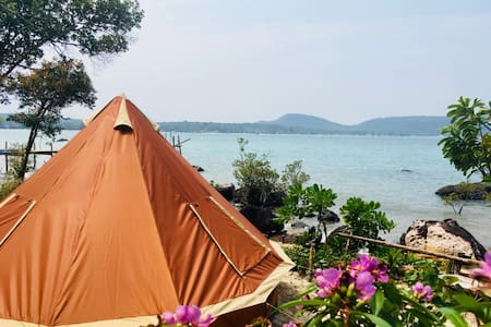 Spacious Yurt with Sea View @ Jungle Bay Eco-Lodge
