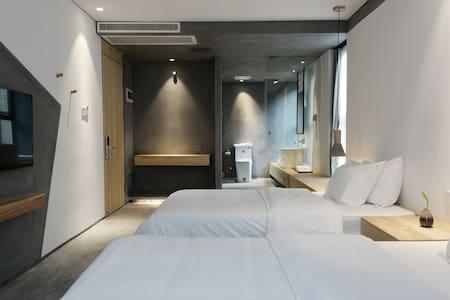 盘扣汐池设计型度假别墅观景轻奢双人间 - Xiamen Shi - 別荘