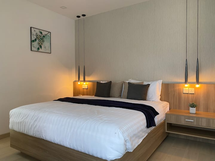 Sky Park luxury 1ded room