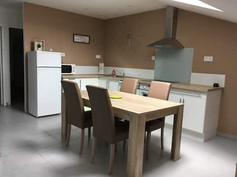 Appartement sous les toits/  T2 Climatisé