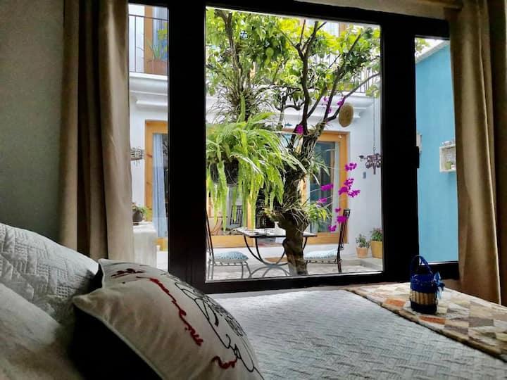 Habitación de diseño a 8 minutos de Antigua