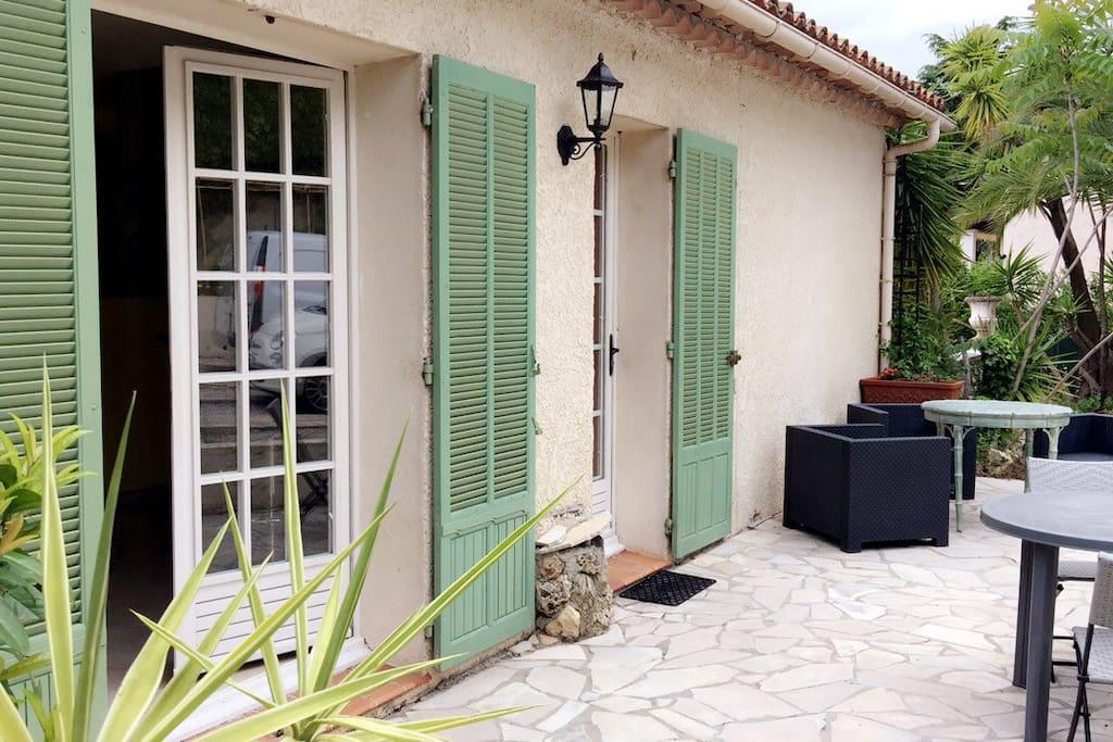 Terrasse Privative du rez de jardin