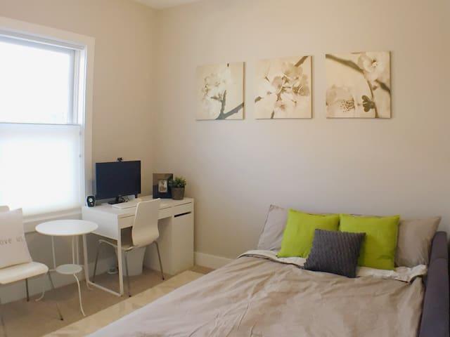 Quiet, Easy Transit, Private Bath - Washington - Appartement en résidence