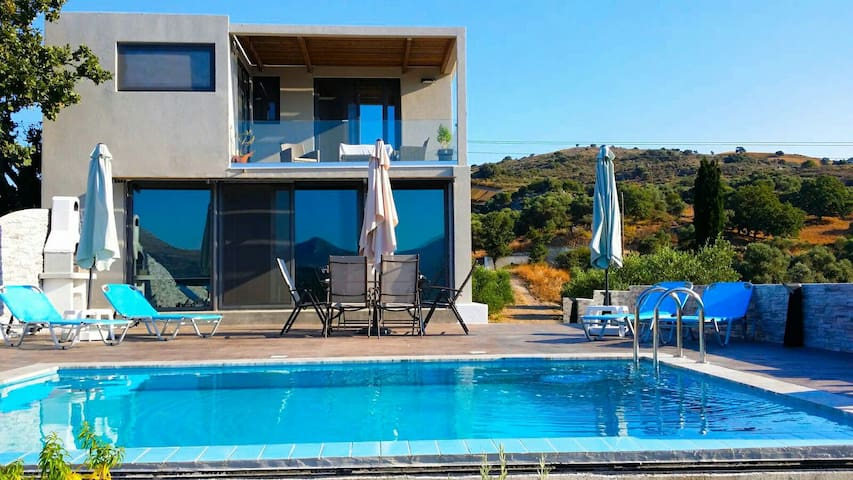 Luxury A1 villa Rethymno with pool - Rethymno - Villa