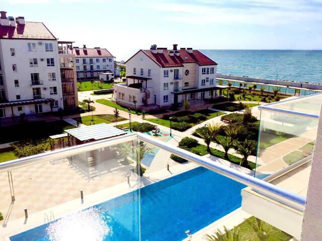 Апартамент в олимпийском парке 55кв - Адлер - Apartment