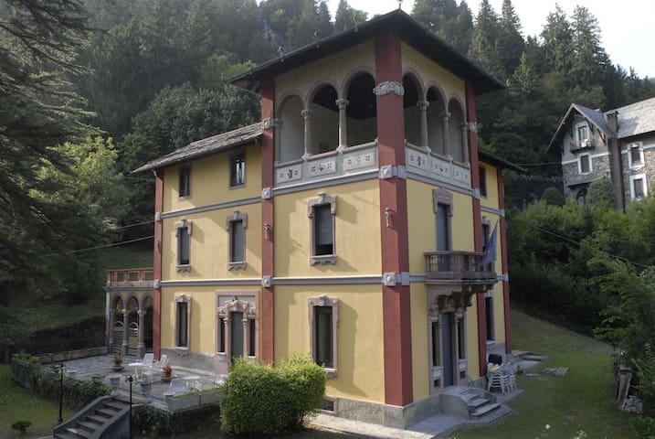 Villa romantica fra le montagne di Gromo - Gromo - Willa