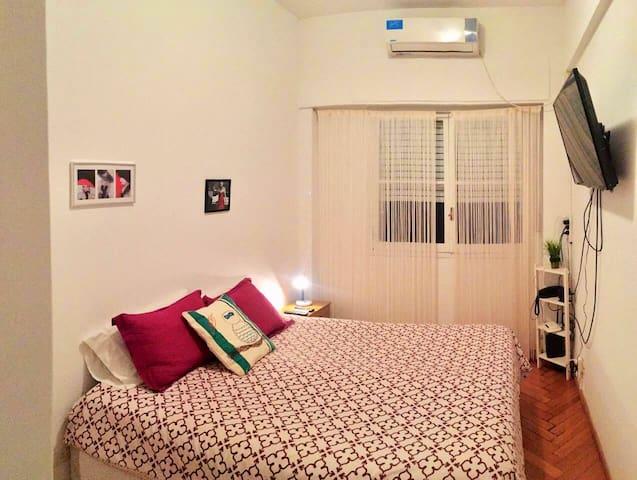 Cálido apartamento en el corazón de Buenos Aires
