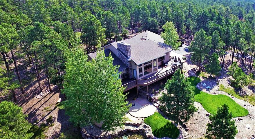 Mountain Style Home on Ten Acres