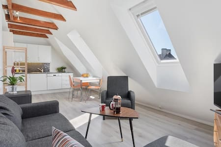 Charming two-bedroom loft-apartment