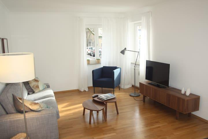 Light-filled Munich City Centre apartment