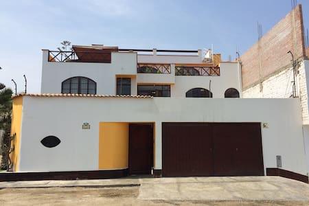Alqilo primer piso para 10 personas - Punta hermosa - Haus