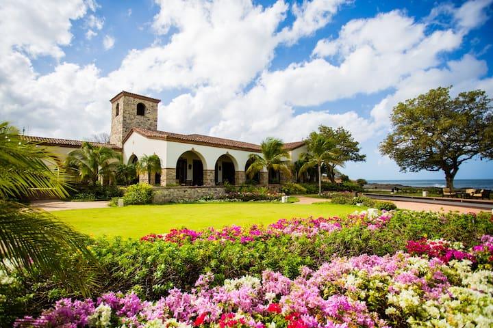 Rancho Santana's clubhouse