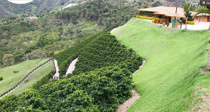 Coffee House at el Peñol, Guatapé