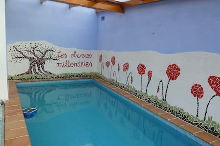 Casa Rural Les Oliveres Mil·lenàries. - La Jana - 独立屋