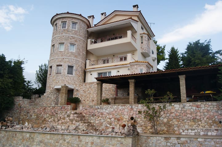Extraordinary Villa with pool-close to airport!