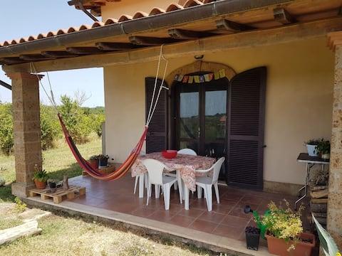 Casa vacanze Namaste, vicina a terme, lago e mare