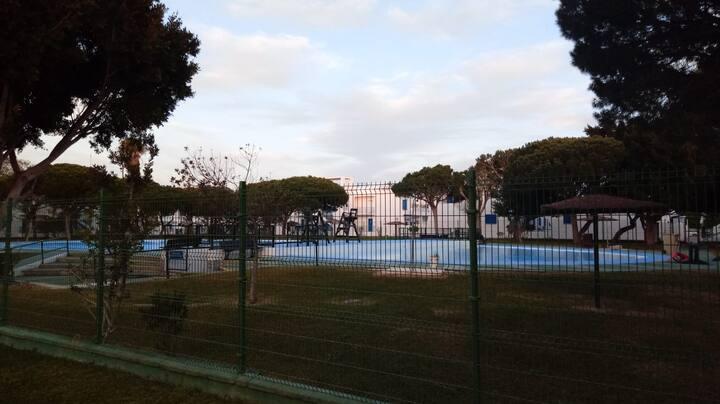 Duplex,  urbanización Almadraba a 200m de la playa