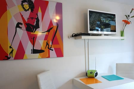 B 76 Hotelroom in the citycenter, central station - Munich - Apartment