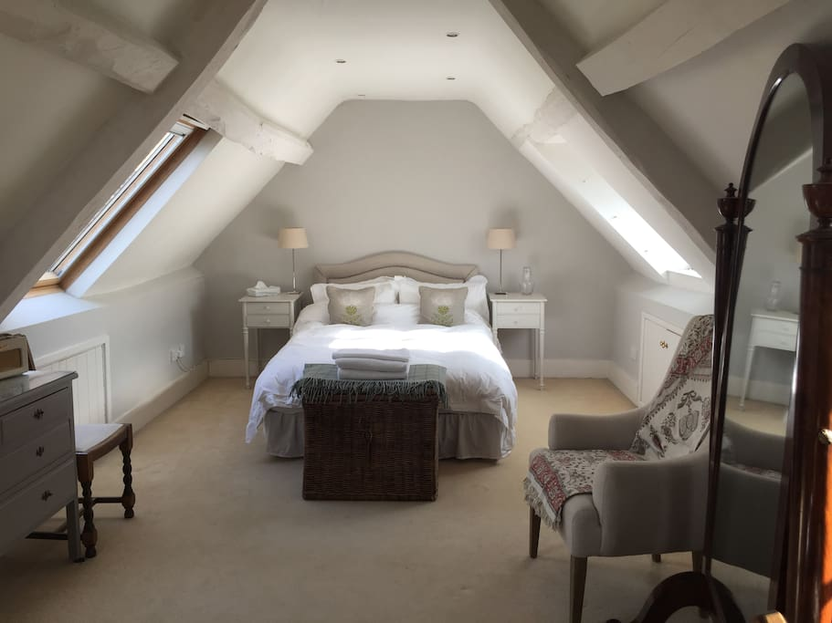 Beautiful top room with stunning views