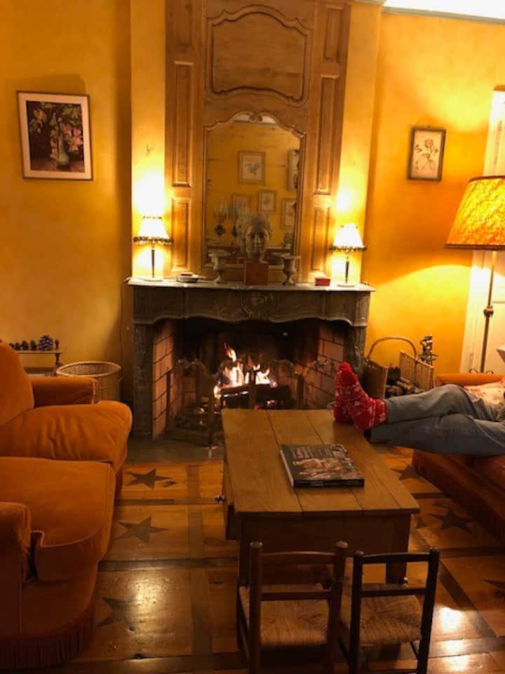 Rare: La Bastide de Mamet, family house in Ardèche