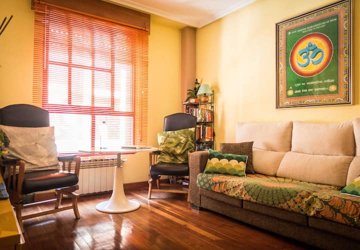 Akash House: acogedora y céntrica