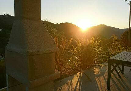 bas de villa au calme sur sartène - Granace - Apartamento