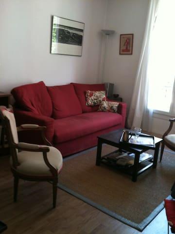appartement clair et calme très bien situé