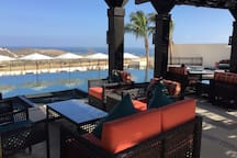 Views from the clubhouse outdoor sofas :)