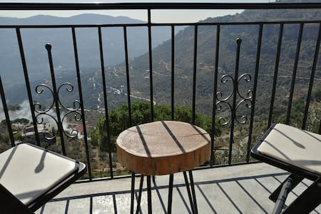Rustic mountain escape with a view, Room A