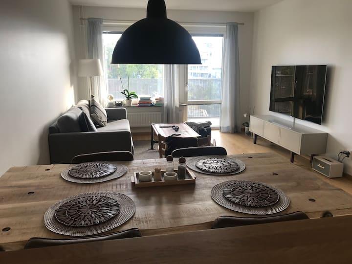 Modern apartment 7 minutes from Stureplan