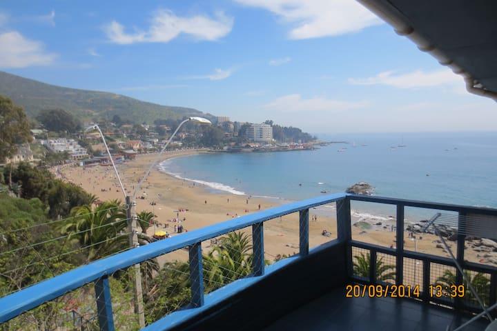 Departamento con linda vista al mar. - Papudo - Apartmen
