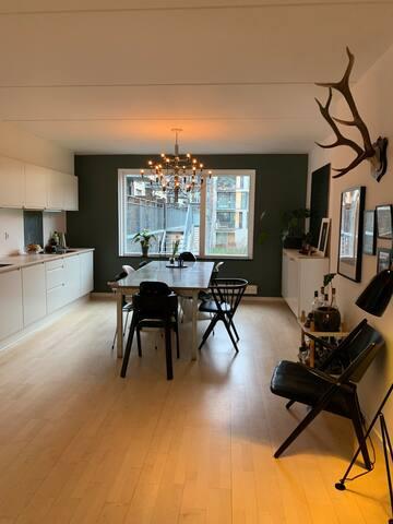 Lovely family apartment in Sluseholmen Cph