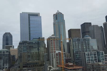 Downtown Seattle with great views