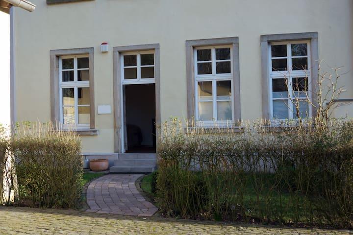Gartenwohnung mit Flair in Osnabrück -Innenstadt - Osnabrück