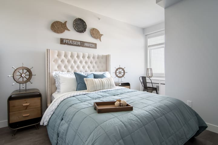 The Langley: Unique and Private Two Bedroom Unit