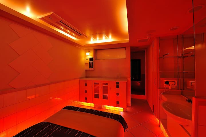 ASAKUSA RENOVATED LOVE HOTEL/2ppl/Wbed