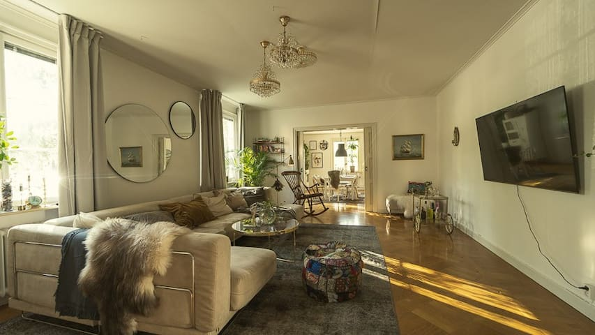 Stor vacker lägenhet belägen i centrala Umeå