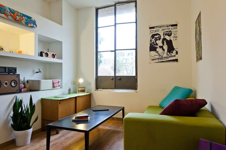Entire Studio in the trendy heart of Tel Aviv - Tel-Aviv-Yafō - Pis
