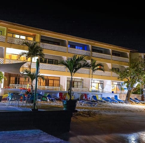 Perfect hotel resort on the beach
