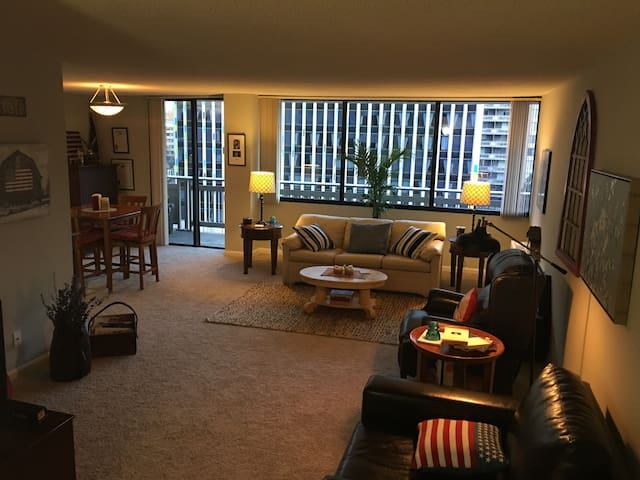 Bright, clean & spacious apartment in Crystal City